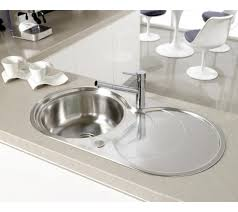 Round Bowl Round Drainer Kitchen Sink Perfect Compact Sink - Round sink kitchen
