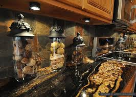 backsplashes for kitchens with granite countertops black countertop backsplash ideas backsplash
