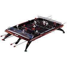 rod hockey table reviews amazon com franklin sports pro action rod hockey game sports