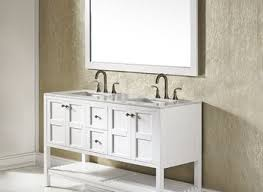 21 inch single bathroom vanity set with off white marble top