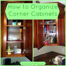 Kitchen Cabinet Organizer Ideas by Upper Corner Cabinet Organization Ideas Cabinet Ideas