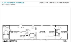 Clayton Manufactured Homes Floor Plans Clayton Value Series 1st Choice Home Centers