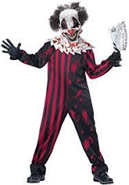 Amazon Boys Halloween Costumes Amazon Killer Clown Kids Costume Toys U0026 Games