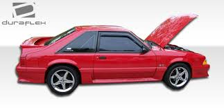 86 mustang cobra ford mustang side skirts scoops ford mustang cobra r style side