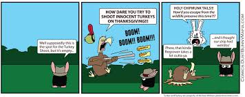 turkey shoot dust bunny mafia comics