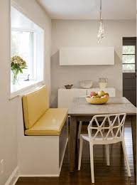 cutting a pass through in a wall natural brown wooden dining table