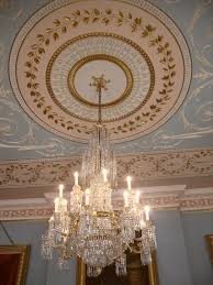 ceiling drawing room attingham park and estate shropshire
