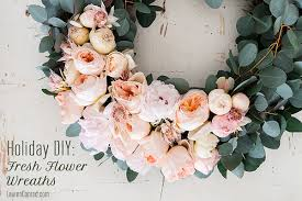 flower wreath diy 4 gorgeous flower wreaths conrad