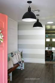 striped walls striped accent wall diy lolly jane