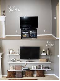 Tv Wall Mounts With Shelves Storage Solutions For Small Bedrooms Wall Mount Shelves And Chains