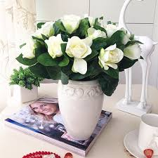 bouquets of flowers 25 free shipping nostalgic gardenia floral silk flower table