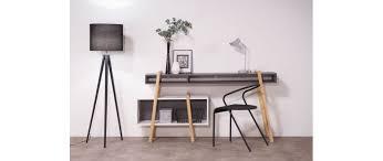 bureau desing bureau design gris et blanc wood tang compo 3 miliboo