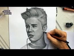 drawing justinbieber by juan andres teenvogue youtube