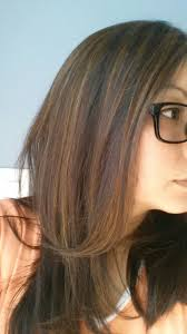 long brown hairstyles with parshall highlight my partial highlights on dark brown asian hair lighten 3 shades