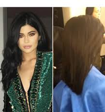 recent tv ads featuring asymmetrical female hairstyles kylie jenner s new haircut watch her document the whole thing on