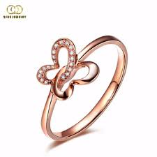 thin small butterfly simple ring designs buy simple ring designs