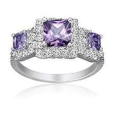 amethyst wedding rings square amethyst wedding rings for a miami wedding polyvore