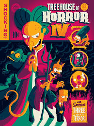 Simpsons Treehouse Of Horror I - treehouse of horror iv variant by tom whalen the simpsons u2013 dark ink
