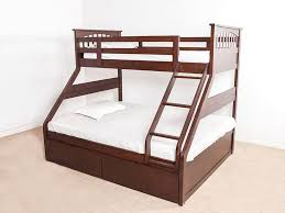 Barnley Single Over Queen Storage BunkBed By Urban Ladder - Ladder for bunk bed
