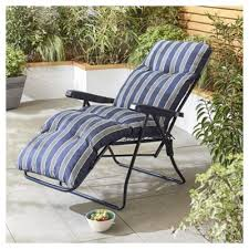 Tesco Armchairs Buy Padded Relaxer Stripe From Our Sun Lounger Range Tesco