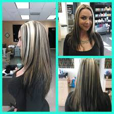 brown lowlights on bleach blonde hair pictures the best pin by lindsey lucky on rockerbiker style dream image for