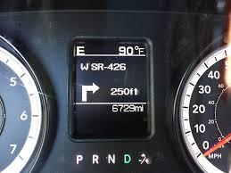 infotainment ram 1500 2500 3500 gps navigation 8 4an ra4 radio