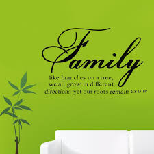 hot family like branches on a tree quote diretions motto art vinyl hot family like branches on a tree quote diretions motto art vinyl decal wall sticker mural decals room home decoration sticker murals sticker on the wall