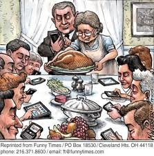 do your family gatherings look like this technology humor