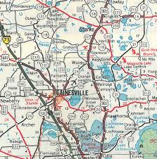 Pensacola Florida Map by Lake Santa Fe The Florida Memory Blog