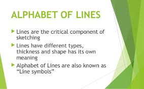 tle 9 technical drafting alphabet of lines