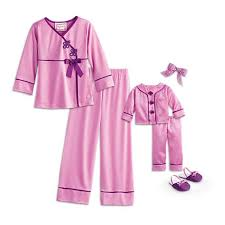 s satin pajamas for dolls beforever american
