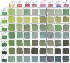 tip make a color chart so you can test what your paints look like