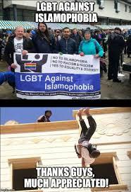 Lgbt Memes - islam loves lgbt imgflip
