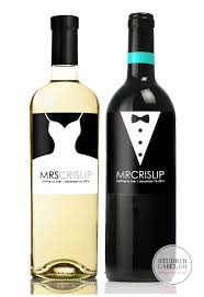 Unique Wedding Gifts Bride And Groom Wedding Gift Wine Or Champagne Labels U2014 Studio B