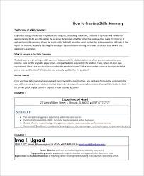 examples of professional summary for resume resume career summary