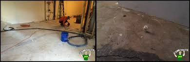 fill void under basement floor concrete jack