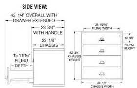 Standard Kitchen Cabinet Sizes Modren Filing Cabinets Dimensions File Folder Drawer
