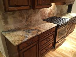 granite kitchen backsplash the 25 best rock backsplash ideas on kitchen