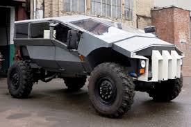 future military jeep bizarre zil russian army humvee concept revealed auto express