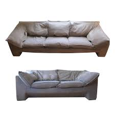 vintage eilersen sofa u0026 loveseat a pair chairish
