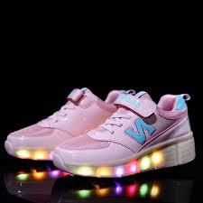 heelys light up shoes new children heelys shoe kids roller shoes with wheels light up