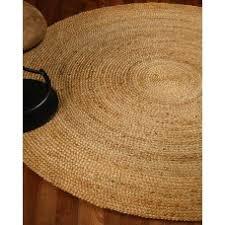 naturalarearugs elsinore jute round rug 100 natural jute hand