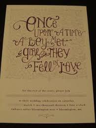 Fairytale Wedding Invitations Folded Wedding Invites Disney Castle Inspired Wedding Invite Once