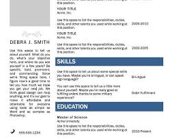 Resume Template Word Marvelous Resume Template Word Resume Cv Cover Letter