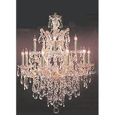 Crystal Parts For Chandeliers Amazon Com Chandelier Lighting Crystal Chandeliers H27