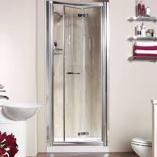 Inward Opening Shower Door Accordion Shower Doors For Tubs Design Pinterest Shower