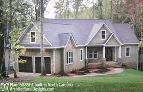 plan 15885ge affordable gable roofed ranch home plan gable roof