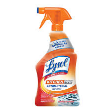 Kitchen Cabinet Cleaning Products Lysol Antibacterial Kitchen Cleaner Lysol