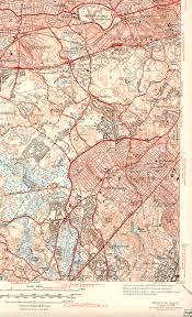 Maps Of New England by Newton Ma Quadrangle