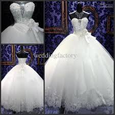 real luxury bling bling wedding dresses 2015 sweetheart ball gown